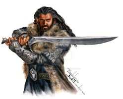 Thorin Oakenshield / Richard Armitage by FashionARTventures