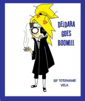 Deidara goes Boom by Stephy-Candle