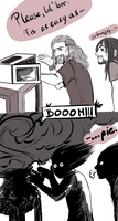 Kili, Fili and the microwave from hell by nightmarez0mbie