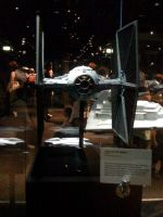 Star Wars the Exhibition - Imperial Tie fighter by Jazzlednightmare16