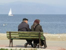 old couple and the sea by atc61
