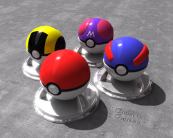 Pokeball 2.0 by BionicleGahlok