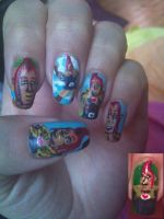 Groose the epic - nail art by amanda04