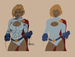 Power Girl Rocafort Flats by alexasrosa
