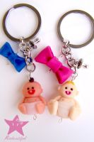 Beby Keychains by missbeautifool