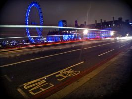 London Alive with Neon by Gaelic-nautilus