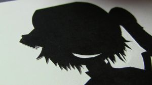 Crazy Winged Girl Silhouette 2 by ImperialMocha
