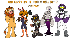 TOME: Halloween Costumes 2015 by Kirbopher15