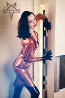 Bank staff in Latex by GuldorPhotography