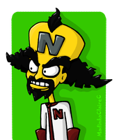 Cortex by MadinkaClaireC