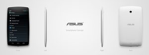 Smartphone Concept (ASUS) by rodrigoDSCT
