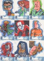DC Sketchcards 2 by JeffVictor