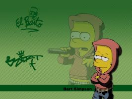 Bart Simpson by fhrptr