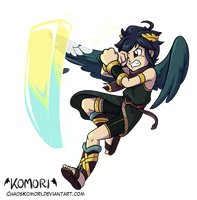 Dark Pit Smash by ChaosKomori