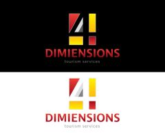 logo 4 dimensions by sherif79
