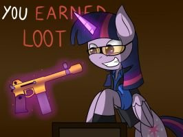 ( MLP/TF2 ) You earned loot! by Mechanized515