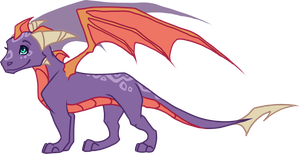 Spyro's Son/Daughter by Lord-StarryFace