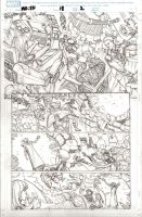 Fantastic Four pencils by StazJohnson