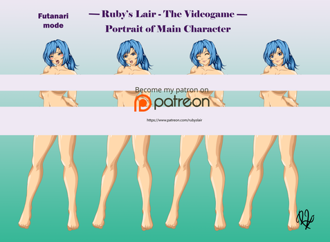 Main Character - Ruby's Lair The Videogame (Futa) by RubyLoveYou
