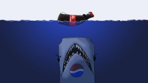Pepsi vs. Coke - Jaws by JimmyRay