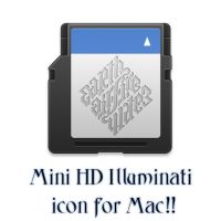 Mini SD Illuminati icon - Mac by ExtendedCreativity