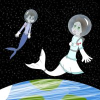 AT: Hypnotized Merastronauts by Dr-Scaphandre