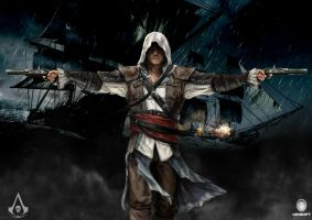 Assassins creed black flag by Mely-Val