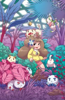 Puppycats in the Gardens by missypena