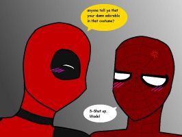 Spideypool by hayley566