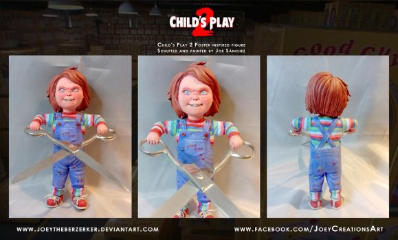 Child's Play 2 Poster replica 3 by joeytheberzerker
