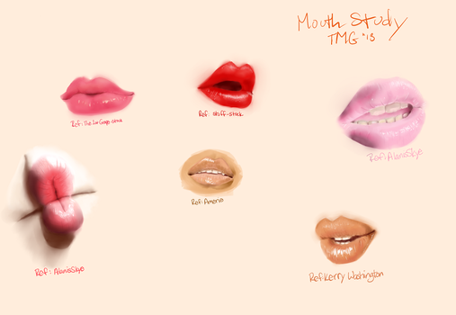 Lips Study No. 3 by Room-382