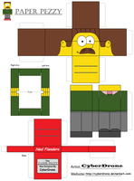 Paper Pezzy- Ned Flanders by CyberDrone