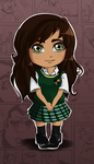Chibi Alicia Marino (Bully OC) by LibraK
