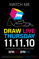Drawing Live by DoomCMYK