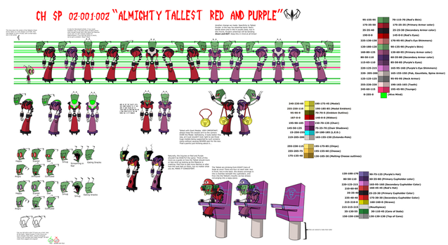 CH SP 02 001-002 Almighty Tallest by PhantoonDraygon781