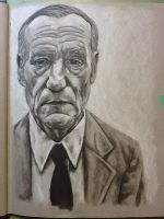 William S Burroughs by wesers