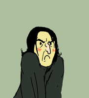 Snape is scary by Valhalrion
