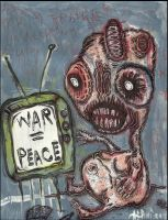 War Is Peace by justinaerni