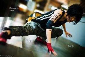 Mirrors Edge: strike a pose by Akusesu