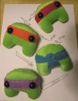 TMNT Lumps by loveandasandwich