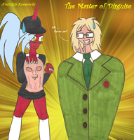 NK - The Master of Disguise by NickyVendetta