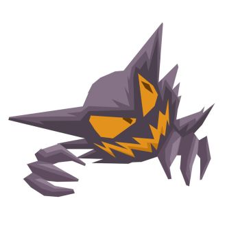 093 - Haunter by Fire-Mask