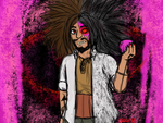 -Possessed Occult Mastermind Yasuhiro Hagakure- by FatBlackMoth