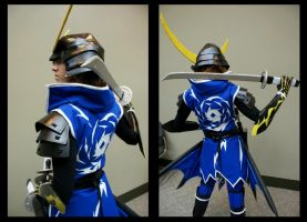 Cosplay: Date Masamune BACK by burloire