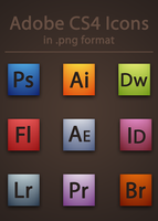 Adobe CS4 Icons by BrienOCD