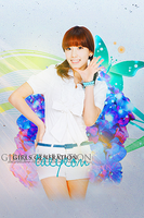 Taeyeon iTouch Wallpaper 1 by xatorihs