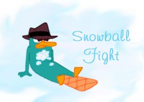 Snowball Fight by AgentBengalTiger