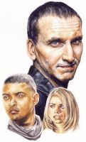 Doctor Who - ninth Doctor by smoothdaddyride