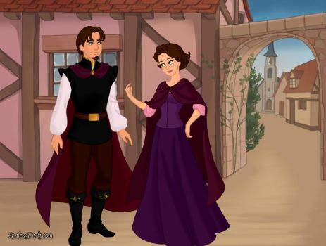 Tangled Princess and Prince Consort by ArielxJim08