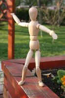 Wooden man 0001 by DeviantDualityStock